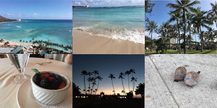 ハワイの思い出の場所