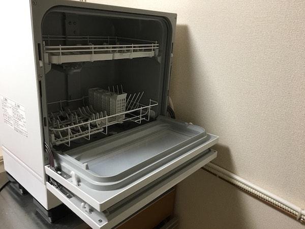 食洗機開いたらこんな感じ